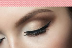 maquiagem olho de gatinho