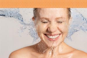 lavar o rosto