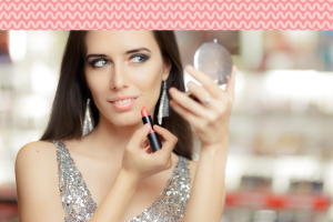 combinar maquiagem com o look